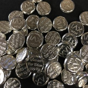 1/10 OZ. BUTTONS BY PER DIEM METALS 2016